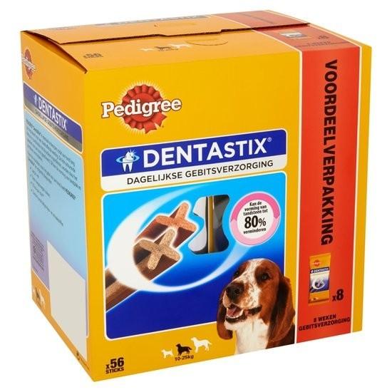 pedigree dentastix multipack f r mittelgro e hunde 56 st ck. Black Bedroom Furniture Sets. Home Design Ideas